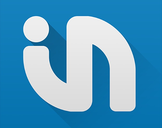 Apple Logo Bleu