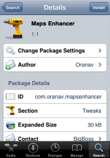 Maps Enhancer 1.1