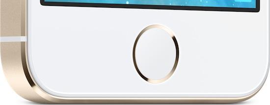 iPhone 5s capteur empreintes