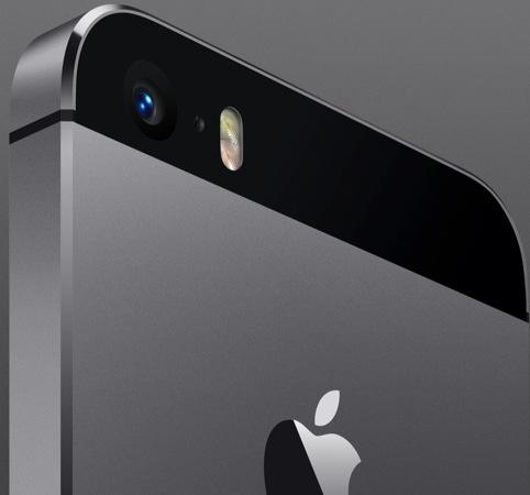 iPhone 5s double flash