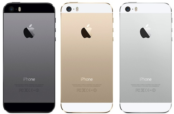 iPhone 5s gris sideral or argent