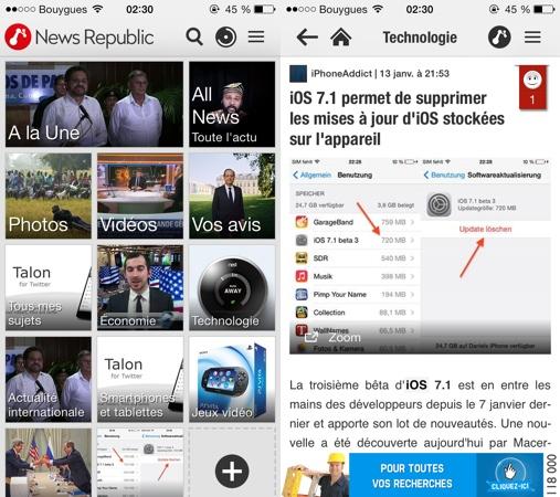 News Republic 4 iPhone