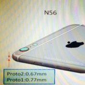 iPhone 6 : l'appareil photo dépasse toujours de la coque arrière dans une fuite