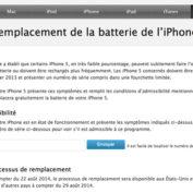 iPhone 5 : Apple ouvre un programme de remplacement de batterie