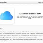 Apple propose iCloud pour Windows bêta aux membres d'AppleSeed