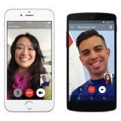Facebook Messenger propose les appels vidéo
